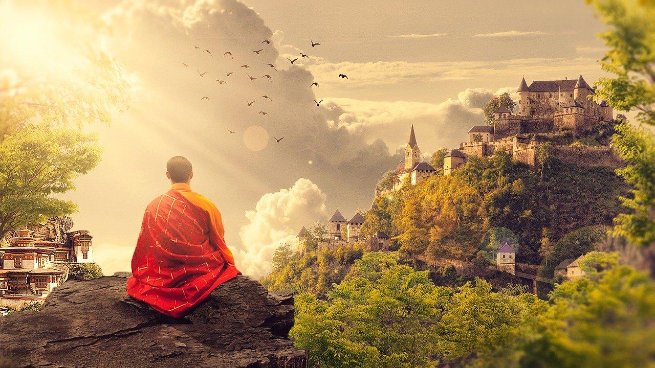 """Meditation mit """"om"""""""